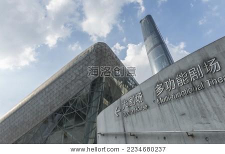 广州大剧院 建筑地标