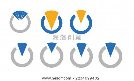 简化钻戒图形设计