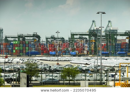马六甲海峡——新加坡港