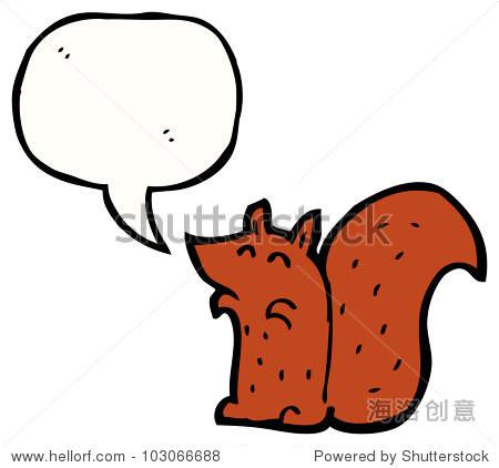 可爱的小松鼠卡通 - 动物/野生生物,交通运输 - 站酷