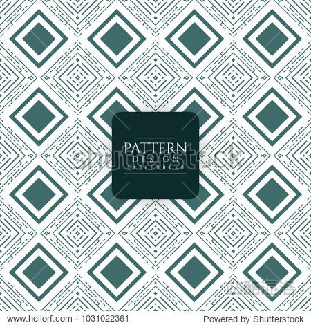 abstract elegant seamless pattern design background图片