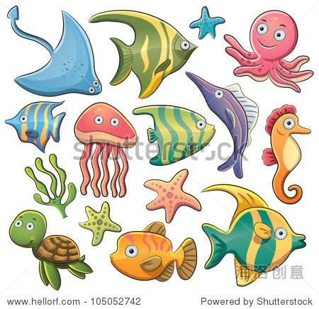 海洋动物集合