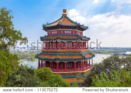 Summer Palace of the Emperor of China