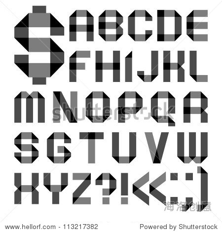 日�yl#��!y��:�9�k�f_alphabet from a paper transparent tape - roman a