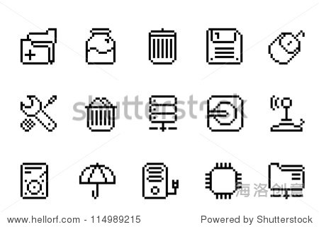计算机项目图标 - 物体,符号/标志 - 站酷海洛创意,,.