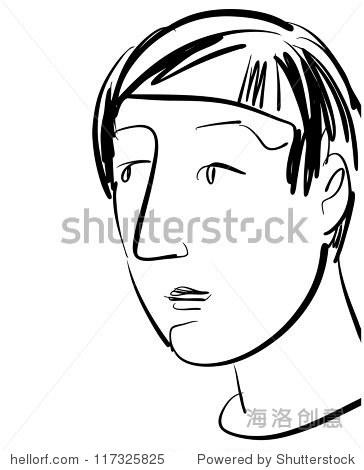墨水画的人性格