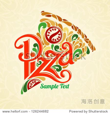披萨设计模板 - 背景/素材,食品及饮料 - 站酷海洛,,.
