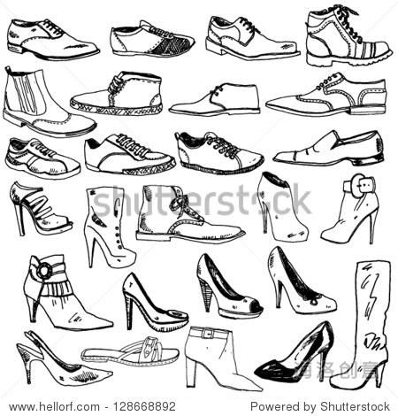 怎么手绘鞋子-手绘鞋子|手绘女生视频教程|鞋子怎么画简单又漂亮|怎么画鞋子|怎么手绘鞋子限定款