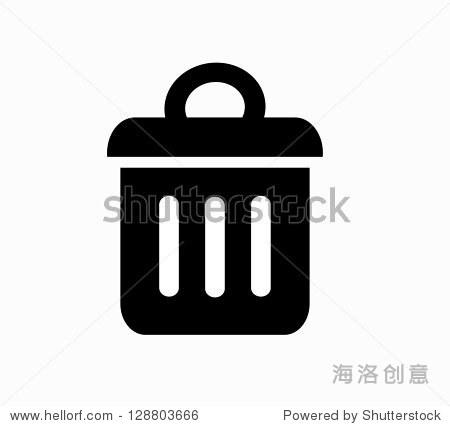 垃圾桶图标矢量图片