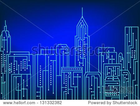 电路设计的艺术,纽约城市