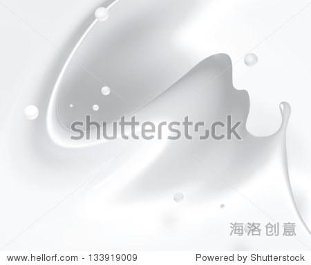 倒牛奶或白色液体飞溅 - 背景/素材,食品及饮料 - ,,.