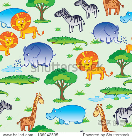 有趣的非洲动物