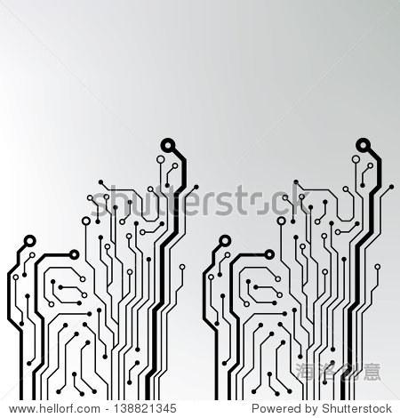 电路板的背景.eps10矢量图