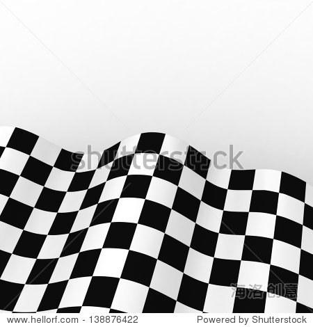 赛车的旗帜.背景方格旗f1与空间为你的文本