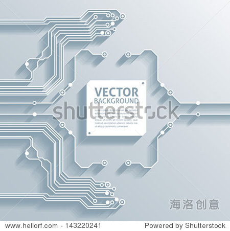 3 d电路板背景纹理-向量 - 背景/素材,科技 - 站酷,,.
