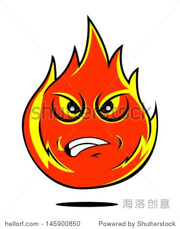火的卡通 - 物体,符号/标志 - 站酷海洛创意正版图片图片