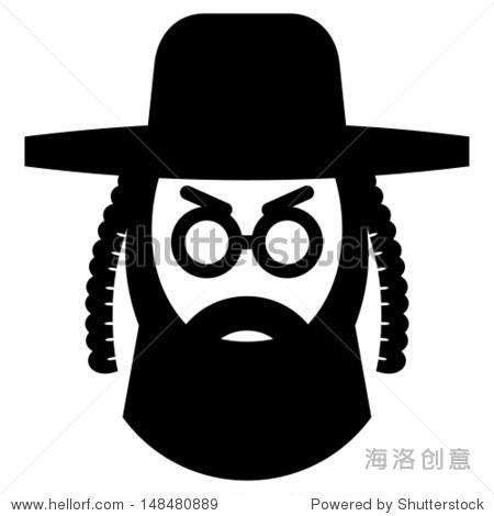 orthodox jew icon