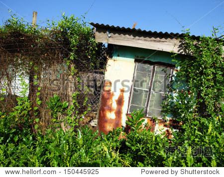 木头房子在农村