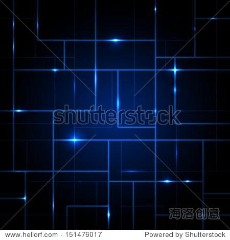 向量电路板抽象背景