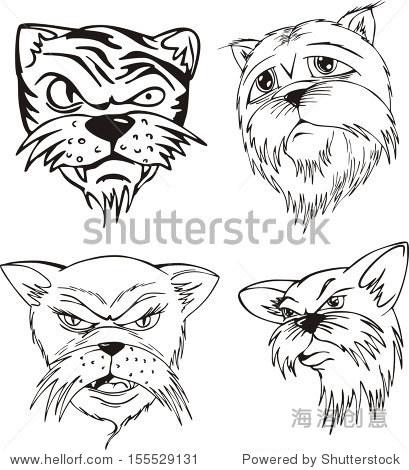 猫头纹身手内容图片分享