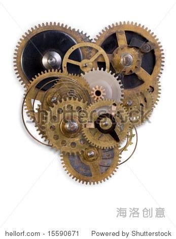 小零件的机械心脏了 - 医疗保健,抽象 - 站酷海洛创意图片