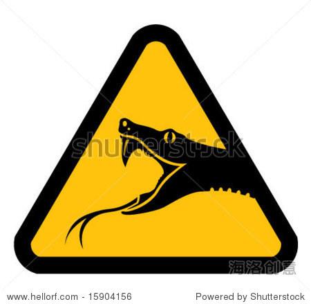 注意蛇 - 动物/野生生物,插图/剪贴图 - 站酷海洛创意