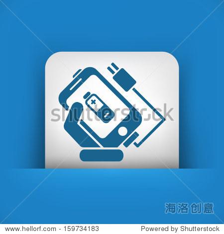 手机充电图标