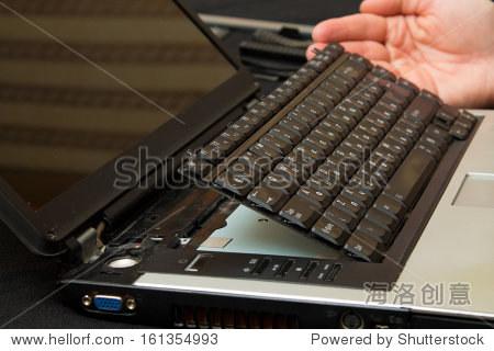 删除从笔记本电脑键盘