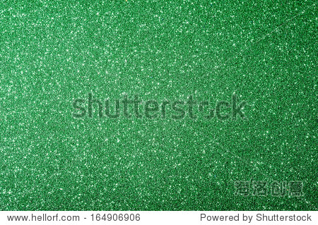 christmas green background with glitter