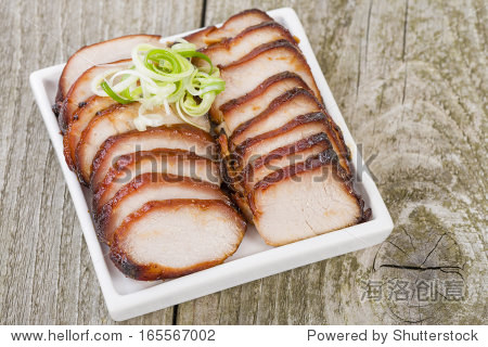 叉烧肉——中国烤猪腰子.
