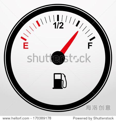 汽车燃料表图标,矢量图 - 符号/标志,其它 - 站酷海洛