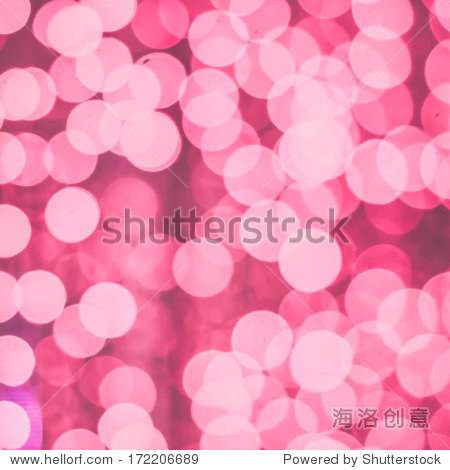 pink abstract glitter bokeh lights. defocused lights background.