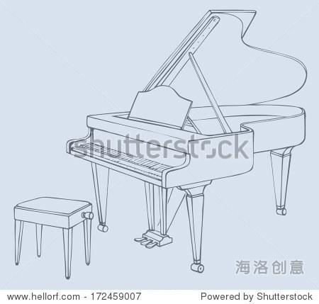 家具 简笔画 手绘 线稿 椅 椅子 450_429