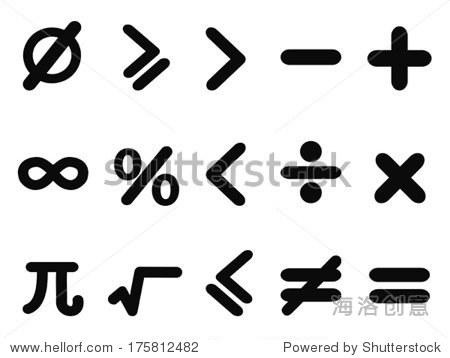 数学图标设置图片