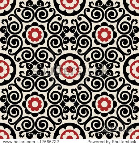 装饰花边图案 - 背景/素材,抽象 - 站酷海洛创意正版图片