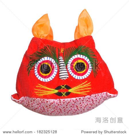 传统手工制作的布老虎玩具