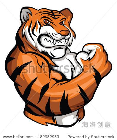 老虎的吉祥物