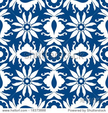 装饰花边图案-背景/素材