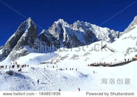 Jade Dragon Snow Mountain in China