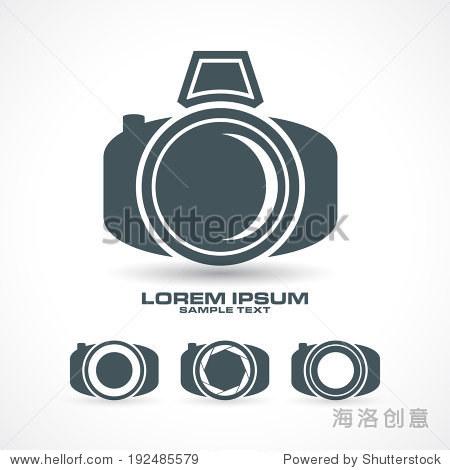 图标在矢量格式设置相机设计 - 科技,抽象 - 站酷海洛