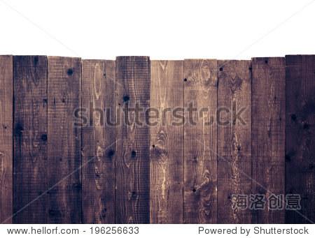 白色背景上的木栅栏 - 背景/素材,物体 - 站酷海洛,,.
