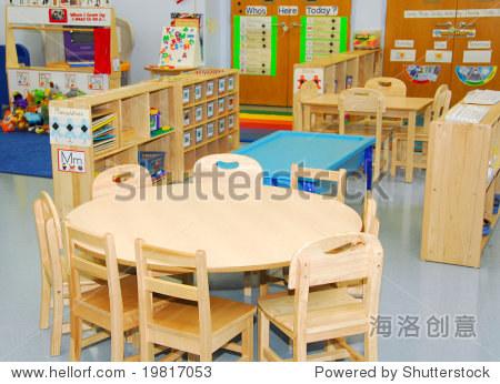 幼儿园教室餐厅创设