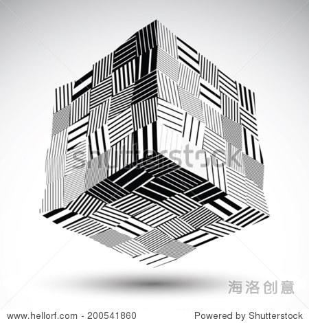 对称的矩形平面设计
