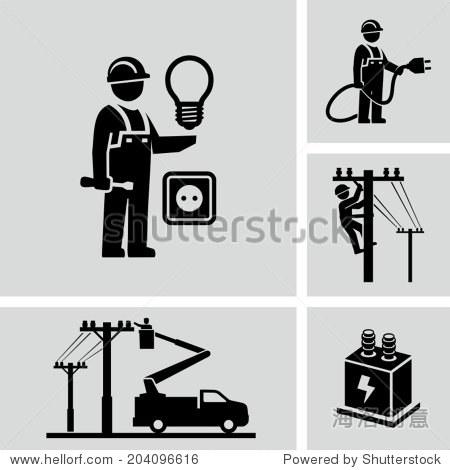 电工- 工业,人物 - 站酷海洛创意正版图片,视频,音乐