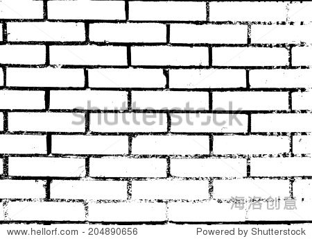 砖墙的背景.矢量插图.