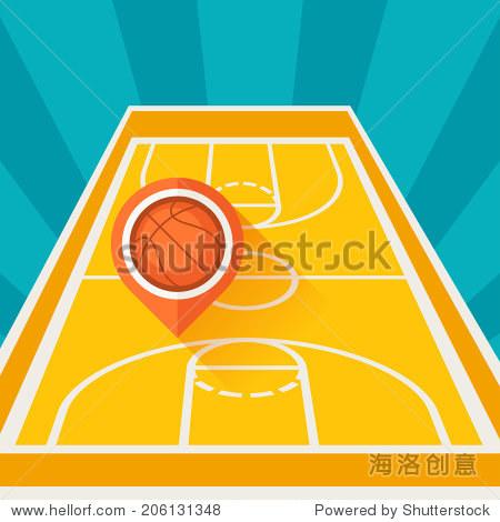 在篮球场上队长的标志是什么