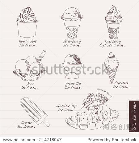 冰激凌怎么画简笔画
