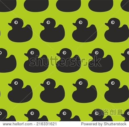 黑鸭子模式