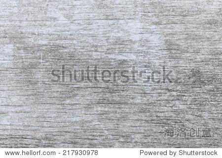 老木风化的乡村背景木头褪了色的浅蓝色油漆木纹纹理