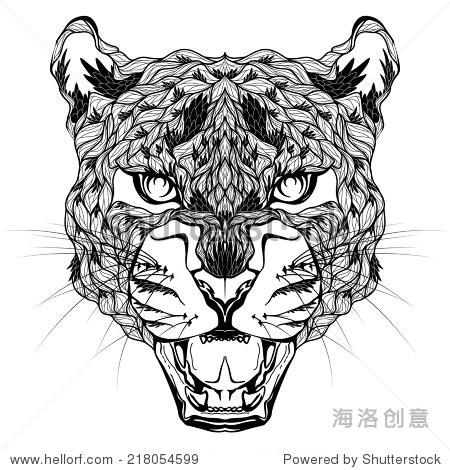 豹子头纹身.迷幻